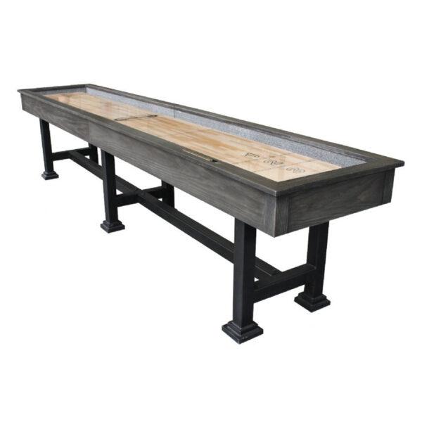 The Urban Shuffleboard Table Midnight Dark