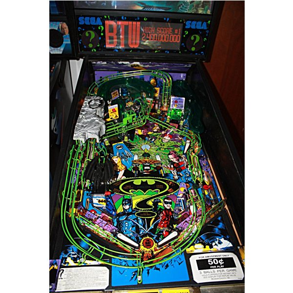Batman Forever Pinball Machine Playfield