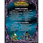 Cosmic Carnival Pinball Flyer