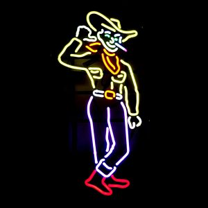 Vegas Cowboy Neon Sign