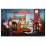 Dogs Playing Poker Wall Art