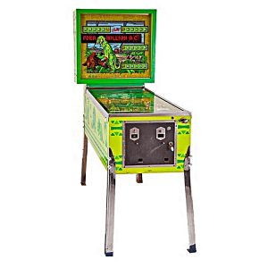 Four Million B.C. Pinball Machine by Bally