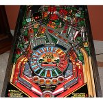 High Speed Pinball Machine Playfield