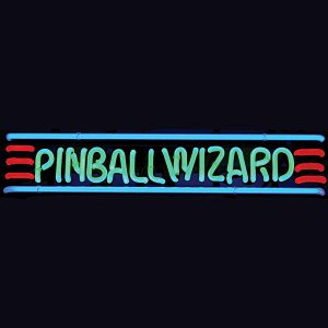 Pinball Wizard Neon Sign