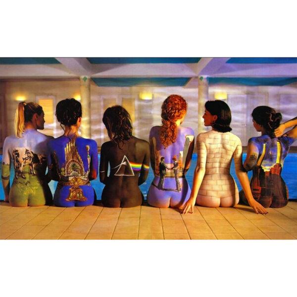 Pink Floyd Painted Girls Wall Art