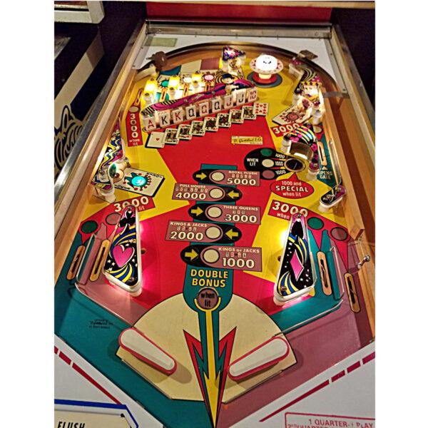 Royal Flush Pinball Playfield
