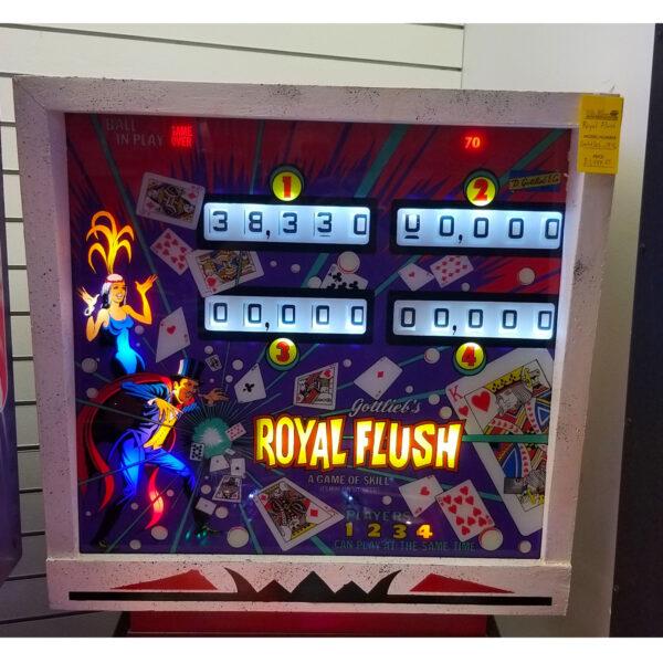 Royal Flush Pinball Gottlieb