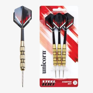 Unicorn Steel Tipped 100 Dart Set
