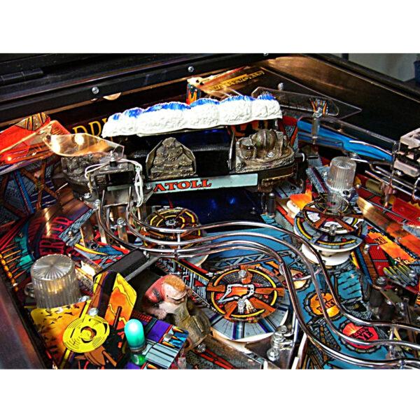 Waterworld Pinball Machine Playfield