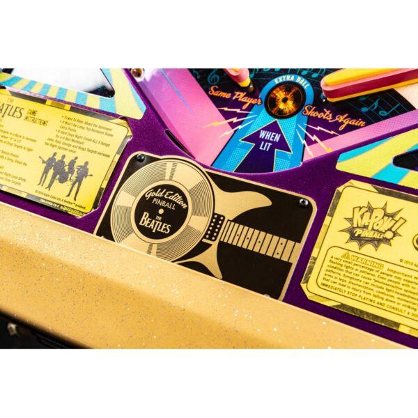 Beatles Gold Pinball Machine