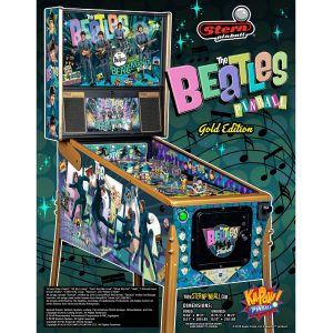 Beatles Gold Pinball Machine