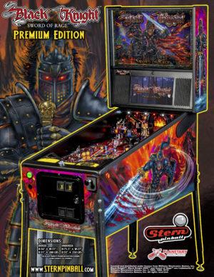 Black Knight Premium Pinball Flyer