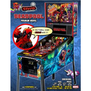 Deadpool Premium Pinball Flyer