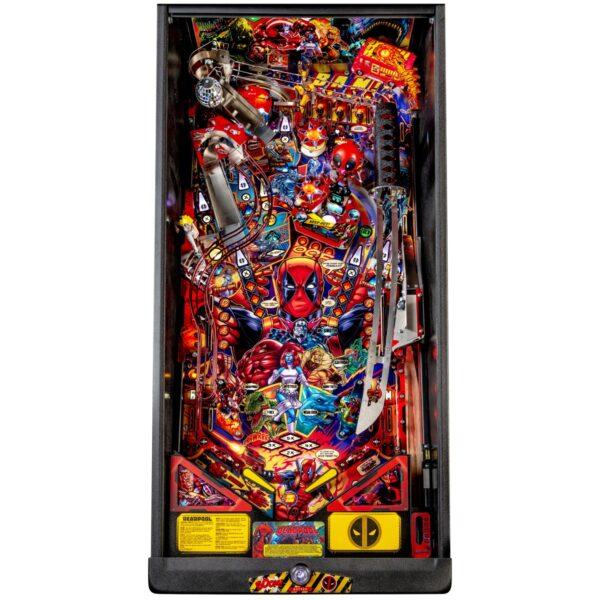 Deadpool Premium Pinball Playfield 600x600 - Deadpool Premium Pinball Machine