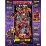 Deadpool Pro Pinball Machine Flyer 2