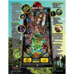 Jurassic Park Pro Pinball Flyer 2