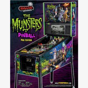 Munsters Pro Pinball Machine