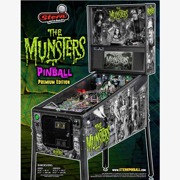 Munsters Premium Pinball