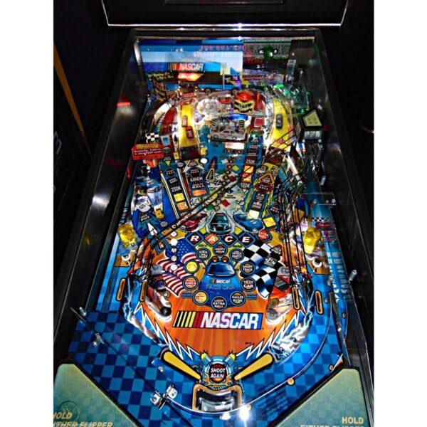 Nascar Pinball Machine Playfield
