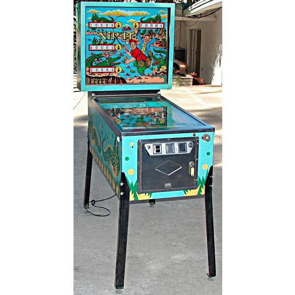 Nip It Pinball Machine