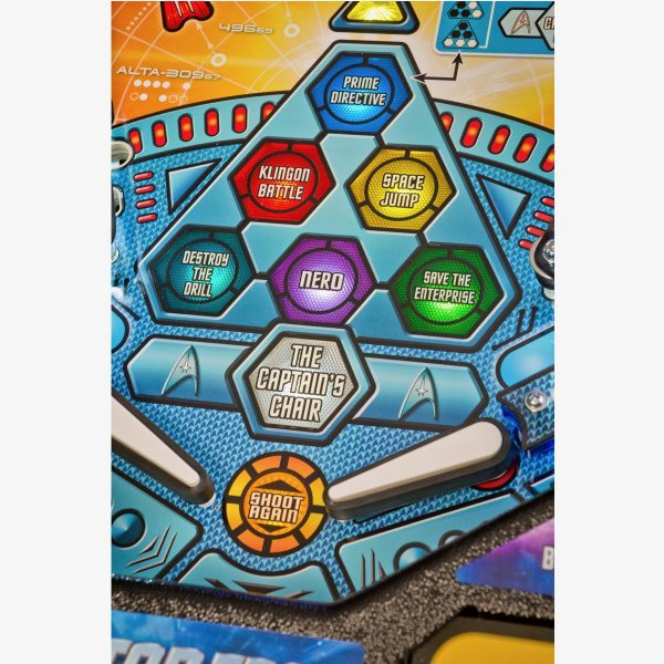 Star Trek Pro Pinball Machine
