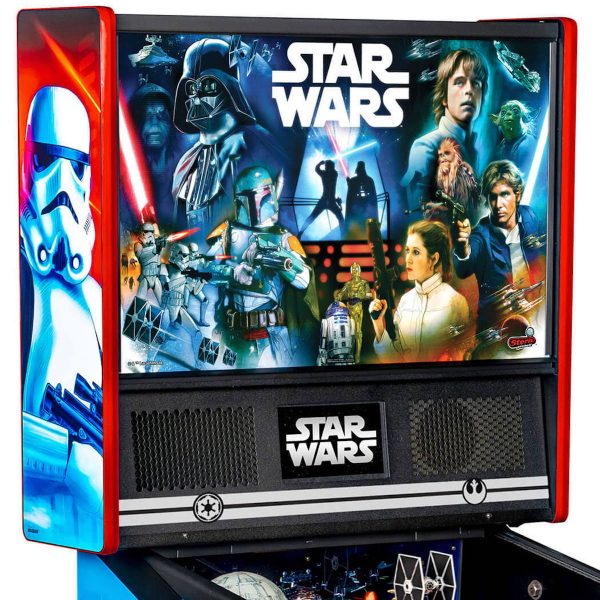 Star Wars PIN Pinball Machine Backglass