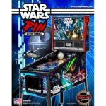 Star Wars Pin Pinball Machine Flyer