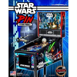 Star Wars PIN Pinball Machine Flyer