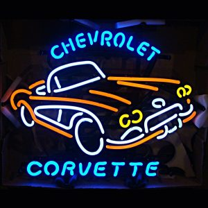 Chevrolet Corvette Stingray Neon Sign