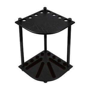 Corner Cue Rack - Black