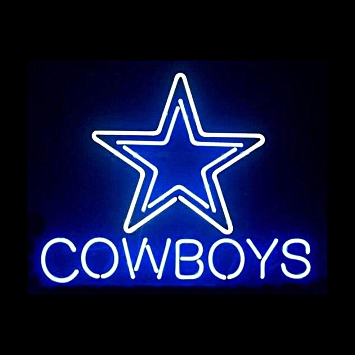 Dallas Cowboys Neon Sign Elite Home Gamerooms