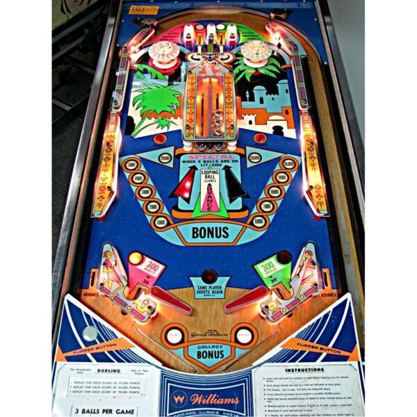Darling Pinball Machine Playfield
