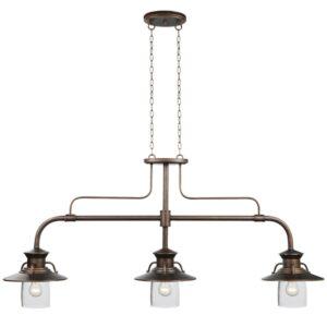 Industrial Style Billiard Light Fixture