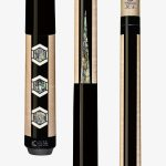 Lucasi Custom Carom Pool Cues – Hexagon Shaped Abalone