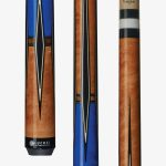 Lucasi Custom Pool Cues – Black Diamond Outlines
