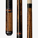Lucasi Custom Pool Cues – Bocote and Cocobolo Inlay
