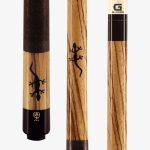 McDermott Pool Cues – West African Zebrawood