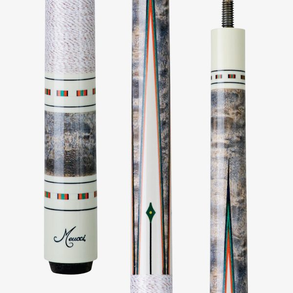 Meucci Pool Cues - Ivory Inlay