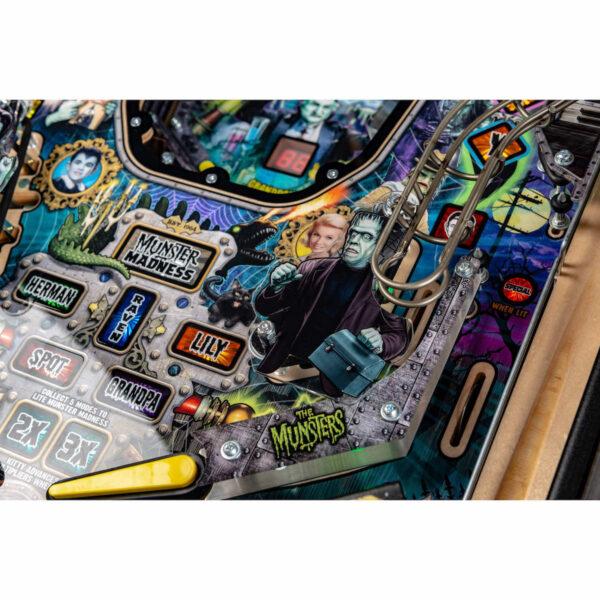 Munsters Premium Pinball Color Edition