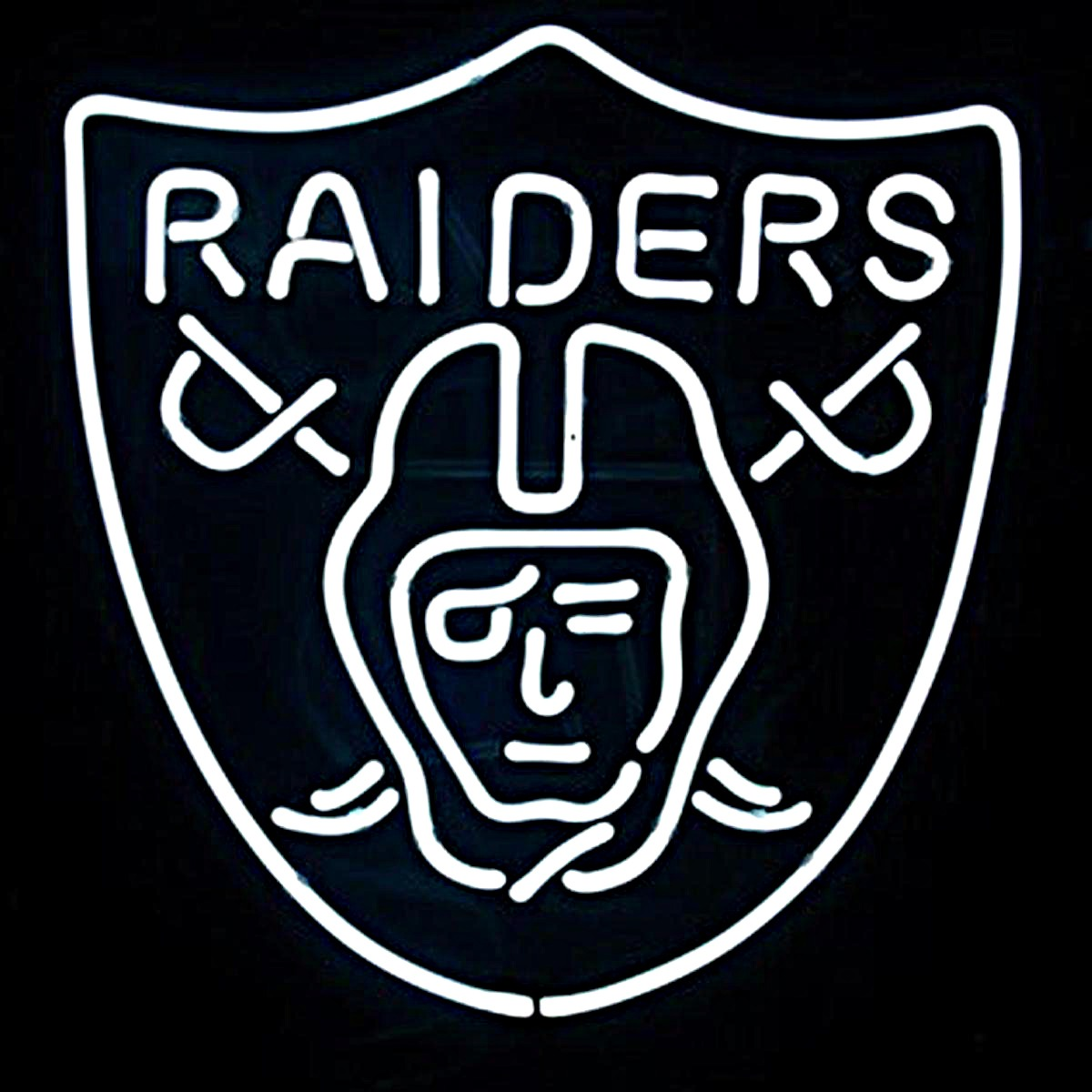 Oakland Raiders Neon Sign | Elite Home Gamerooms
