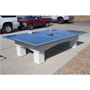 Outdoor Tennis Table by R & R