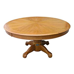 """Poker Table with Dining Top - 60"""" Oak 2"""