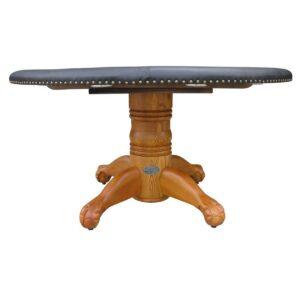"""Poker Table - 60"""" Oak 3"""