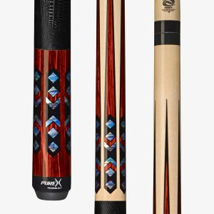 PureX Technology Pool Cues - Mother-of-Pearl Graphic