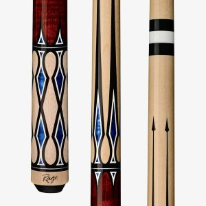Rage Pool Cues - Blue Diamond Accents