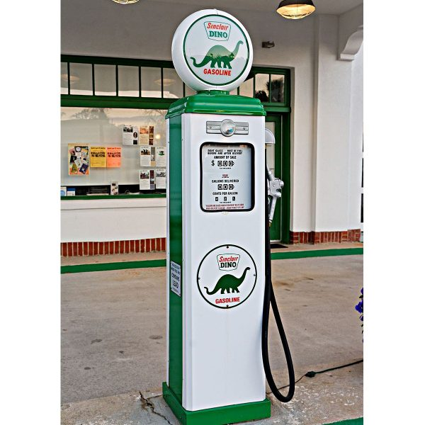 Sinclair Dino Replica Gas Pump