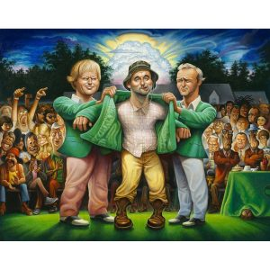 The Green Jacket: A Tribute to Carl Spackler - Caddyshack Wall Art