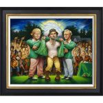 The Green Jacket- A Tribute to Carl Spackler – Caddyshack Wall Art