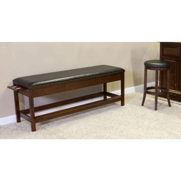 Winslow Billiard Storage Bench by C.L. Bailey