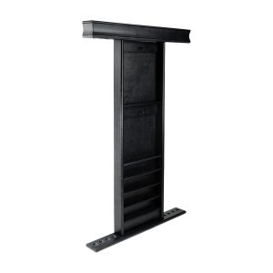 Deluxe Wall Rack Black